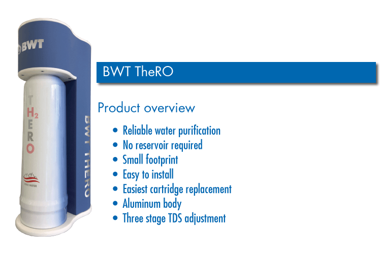 BWT TheRO Under the counter reverse osmosis system